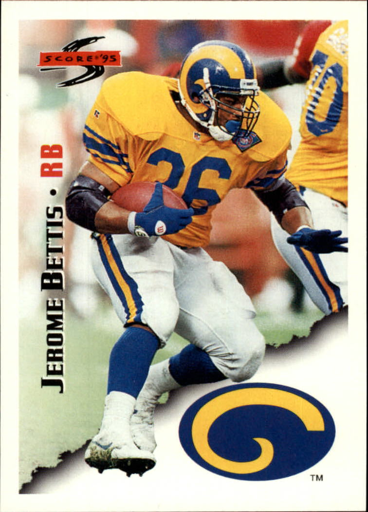 1995 Score #19 Jerome Bettis