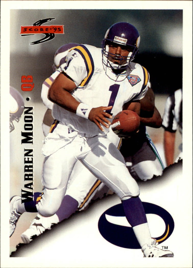 1995 Score #21 Warren Moon