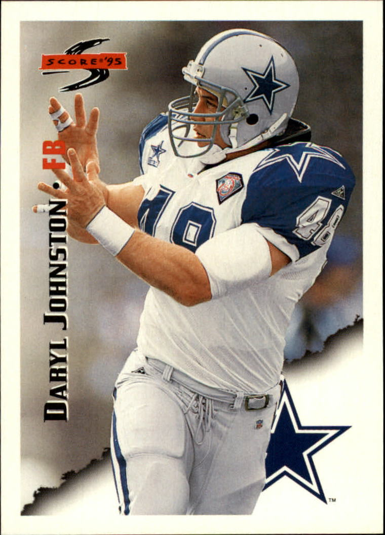 1995 Score #37 Daryl Johnston