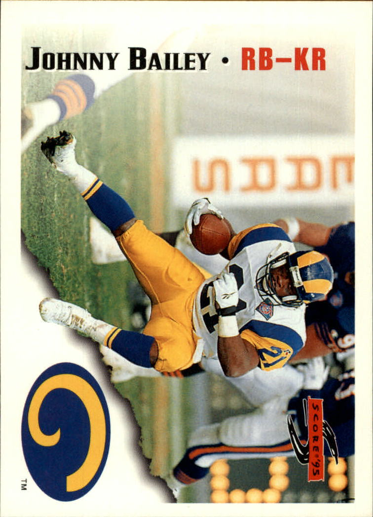 1995 Score #63 Johnny Bailey