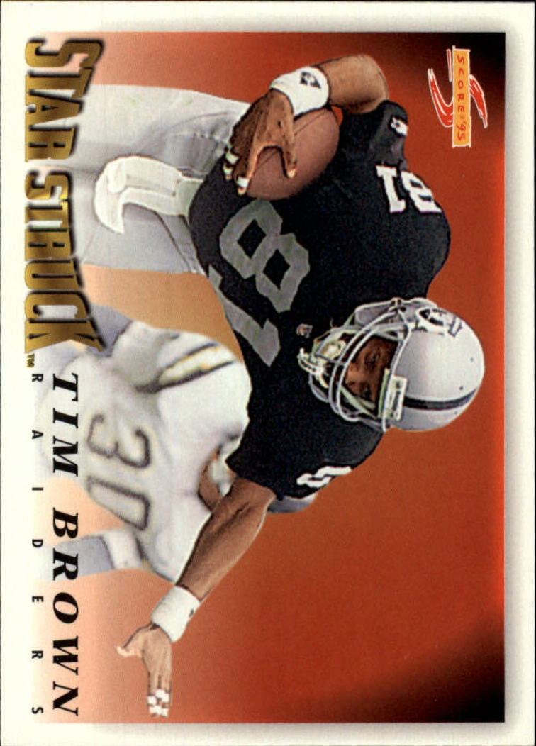 1995 Score #212 Tim Brown SS