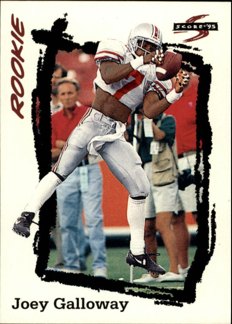 1995 Score #269 Joey Galloway RC