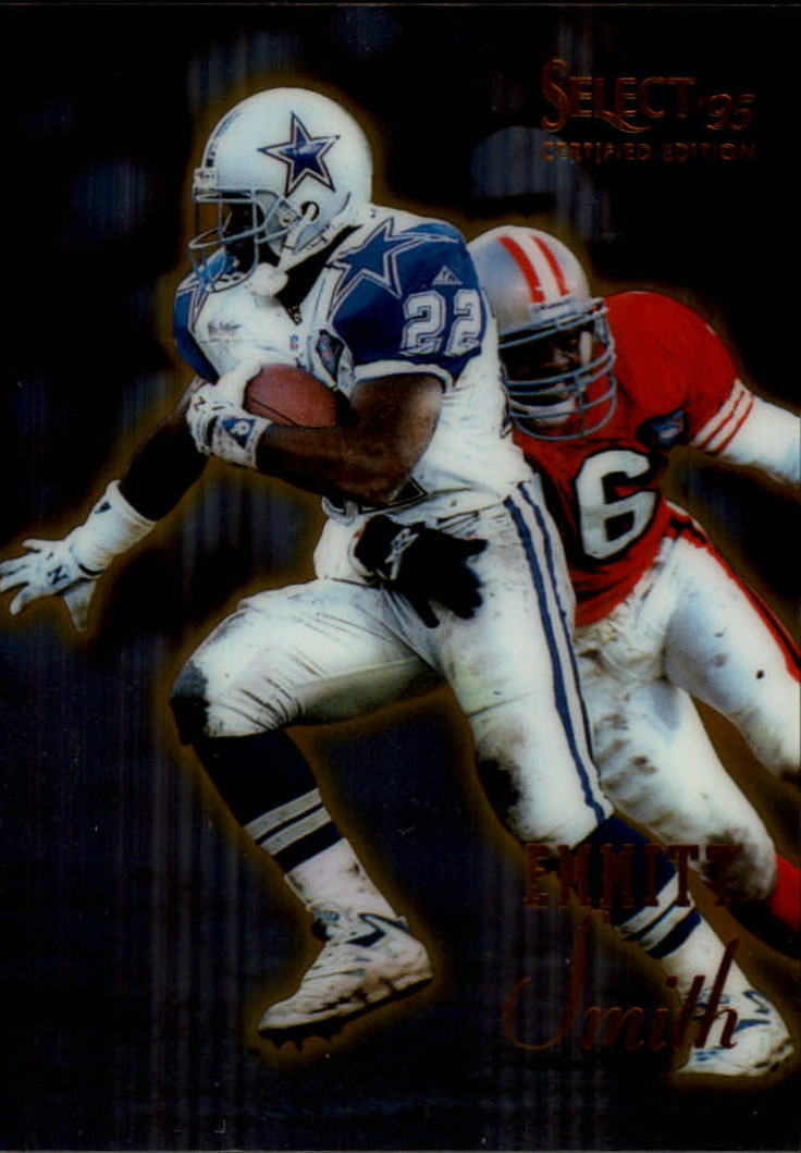 1995 Select Certified #17 Emmitt Smith