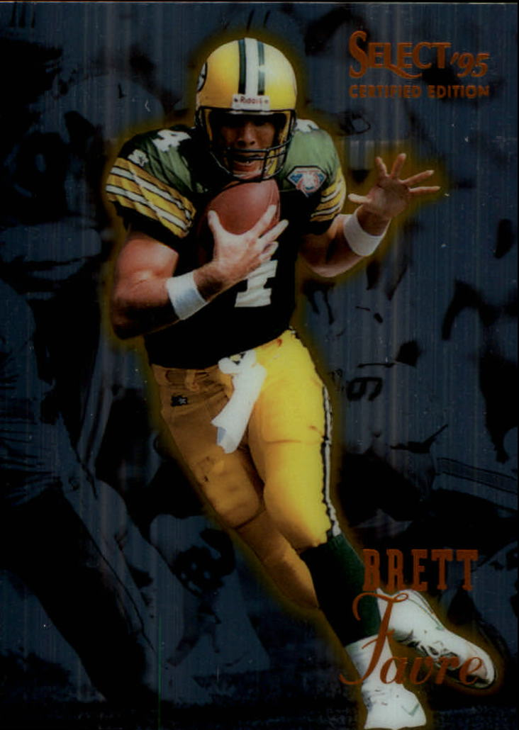 1995 Select Certified #50 Brett Favre
