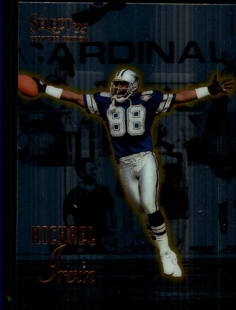 1995 Select Certified #75 Michael Irvin