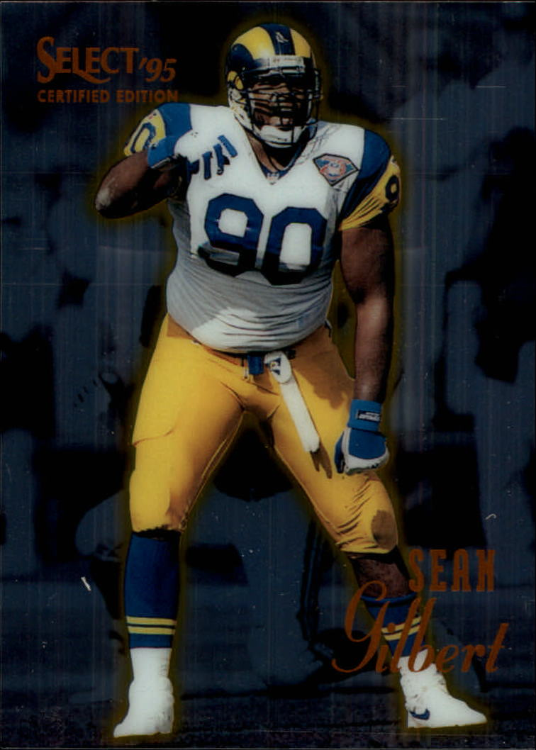 1995 Select Certified #88 Sean Gilbert