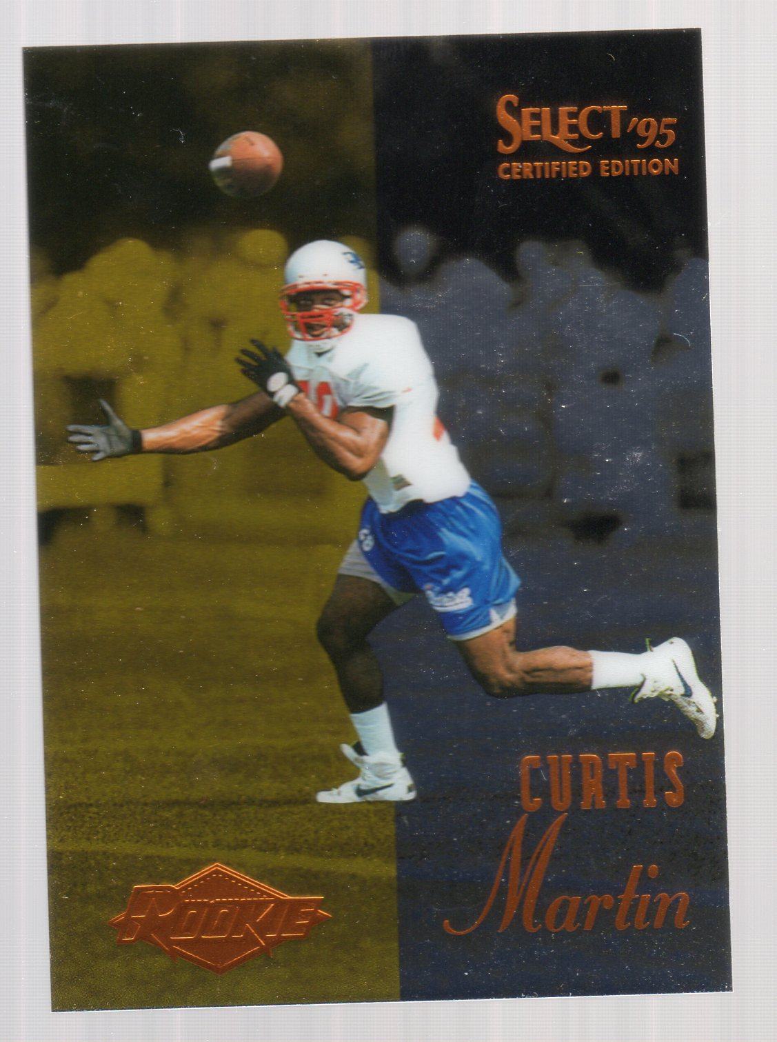 1995 Select Certified #117 Curtis Martin RC