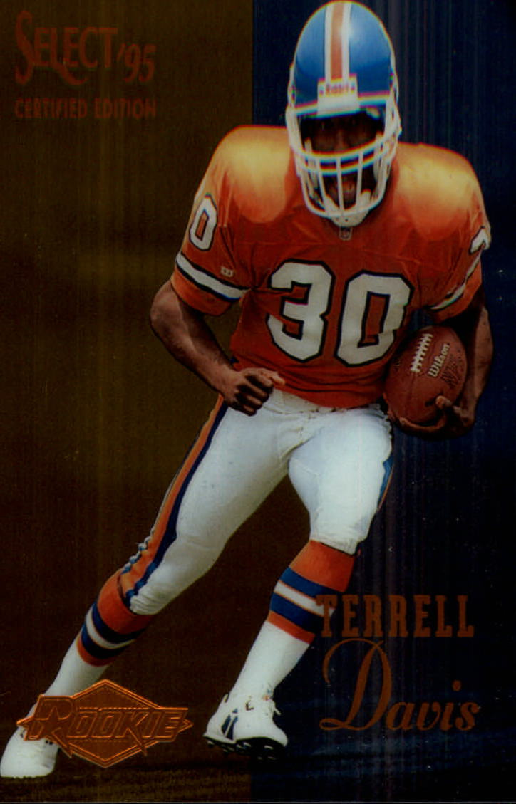 1995 Select Certified #126 Terrell Davis RC