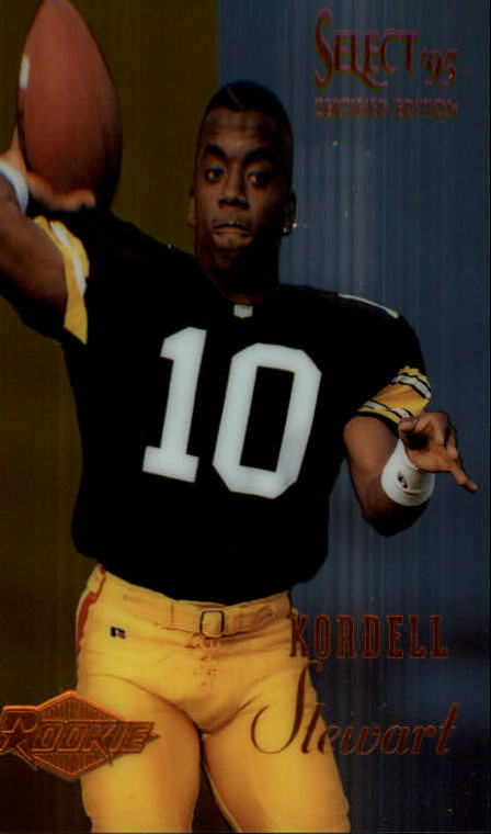 1995 Select Certified #129 Kordell Stewart RC