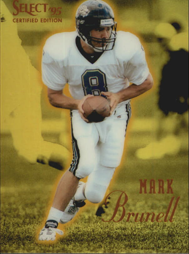 1995 Select Certified Mirror Gold #65 Mark Brunell