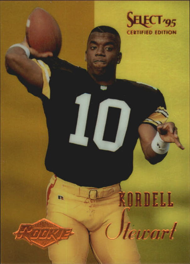 1995 Select Certified Mirror Gold #129 Kordell Stewart