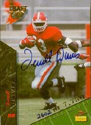 1995 Signature Rookies Autographs #21 Terrell Davis
