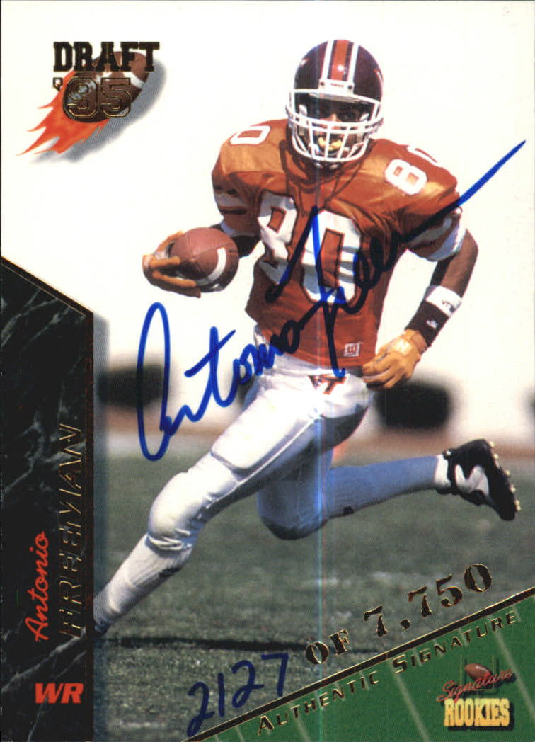 1995 Signature Rookies Autographs #31 Antonio Freeman