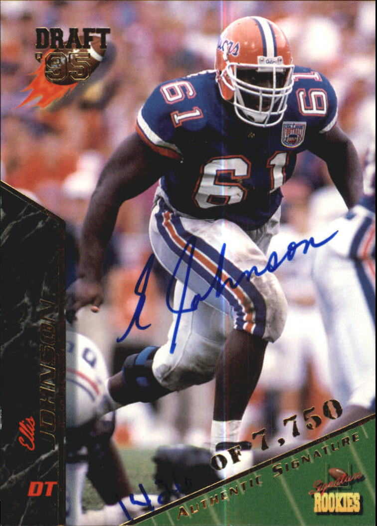1995 Signature Rookies Autographs #42 Ellis Johnson