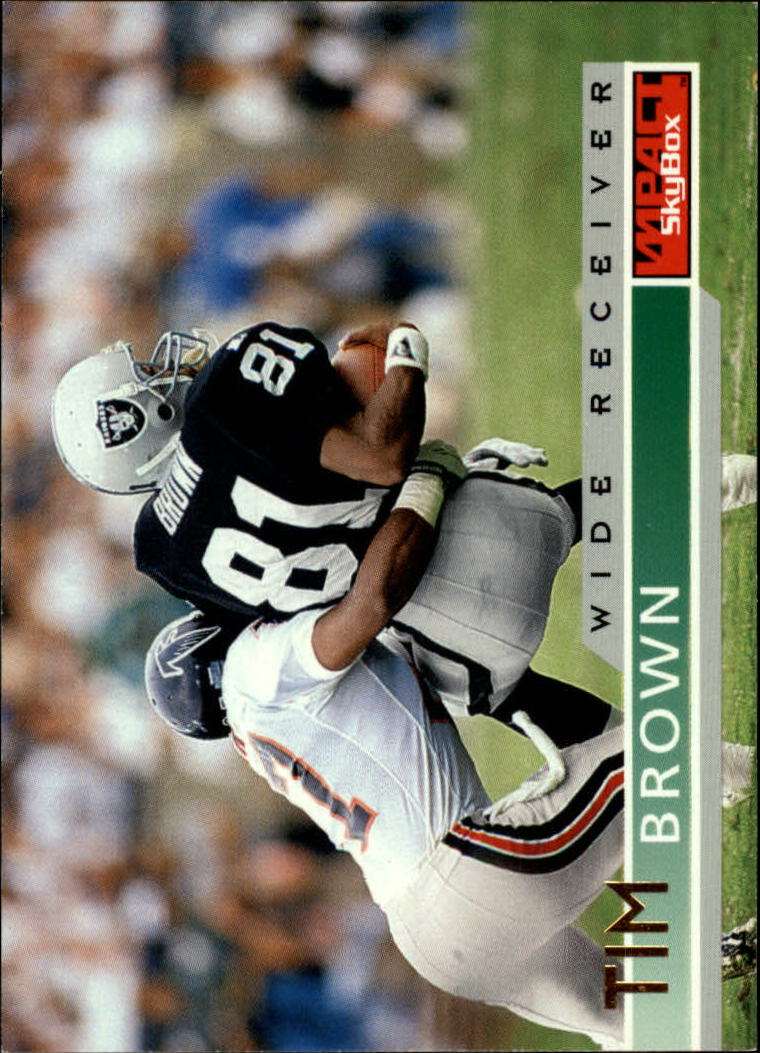 1995 SkyBox Impact #75 Tim Brown