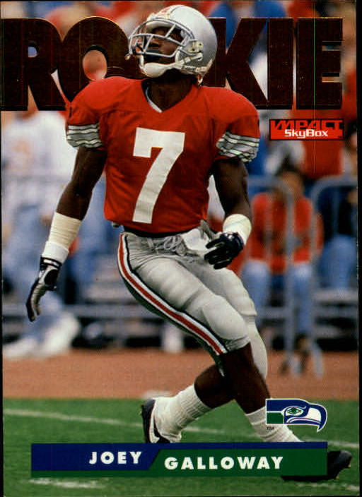 1995 SkyBox Impact #176 Joey Galloway RC