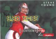 1995 SkyBox Impact Countdown #C3 Steve Young