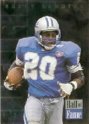 1995 SkyBox Impact Future Hall of Famers #HF7 Barry Sanders