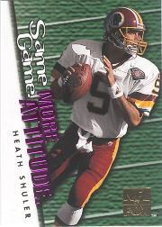 1995 SkyBox Impact More Attitude #F13 Heath Shuler