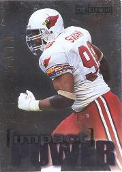 1995 SkyBox Impact Power #IP3 Eric Swann