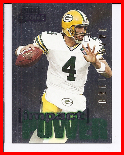 1995 SkyBox Impact Power #IP15 Brett Favre