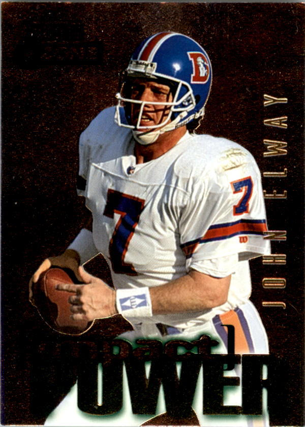 1995 SkyBox Impact Power #IP24 John Elway