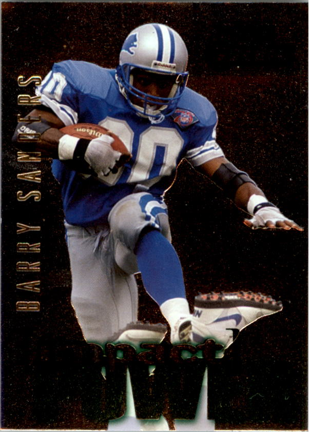 1995 SkyBox Impact Power #IP26 Barry Sanders