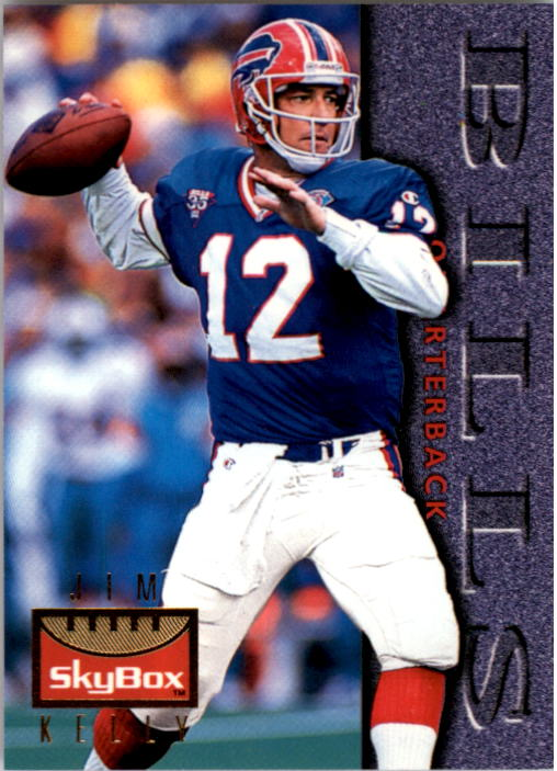 1995 SkyBox Premium #10 Jim Kelly