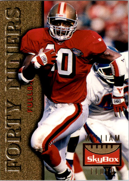 1995 SkyBox Premium #117 William Floyd