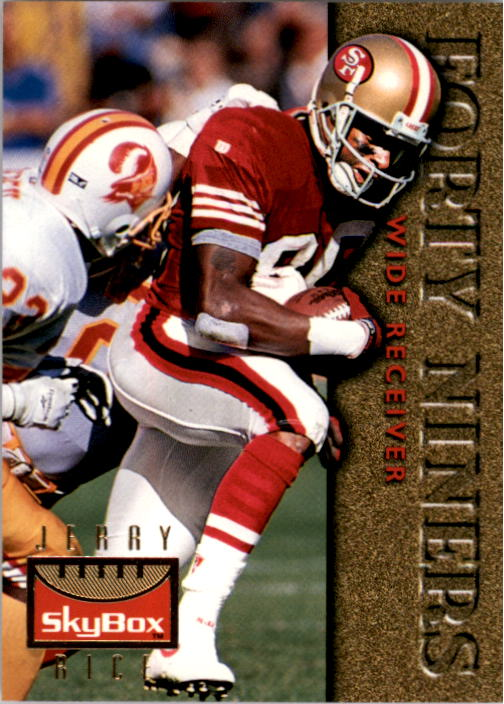 1995 SkyBox Premium #119 Jerry Rice