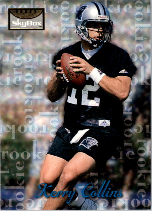 1995 SkyBox Premium #163 Kerry Collins RC