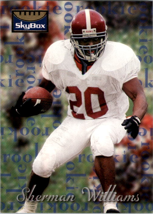 1995 SkyBox Premium #195 Sherman Williams RC