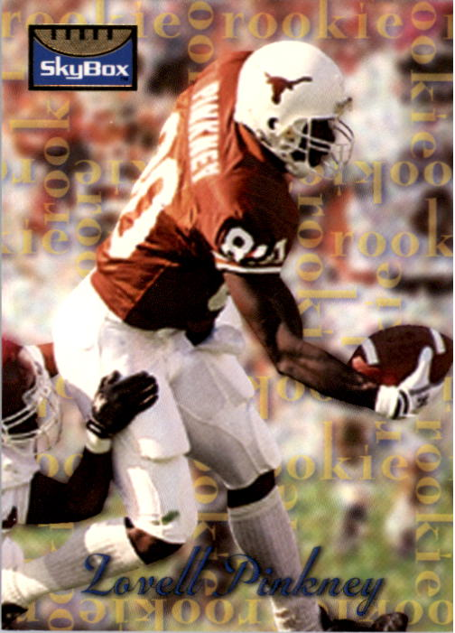 1995 SkyBox Premium #196 Lovell Pinkney RC