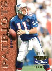 1995 SkyBox Premium Inside the Numbers #6 Drew Bledsoe