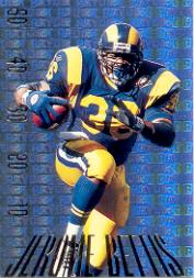 1995 SkyBox Premium Paydirt Gold #PD5 Jerome Bettis
