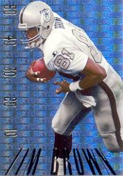1995 SkyBox Premium Paydirt Gold #PD6 Tim Brown
