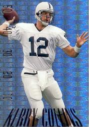 1995 SkyBox Premium Paydirt Gold #PD22 Kerry Collins