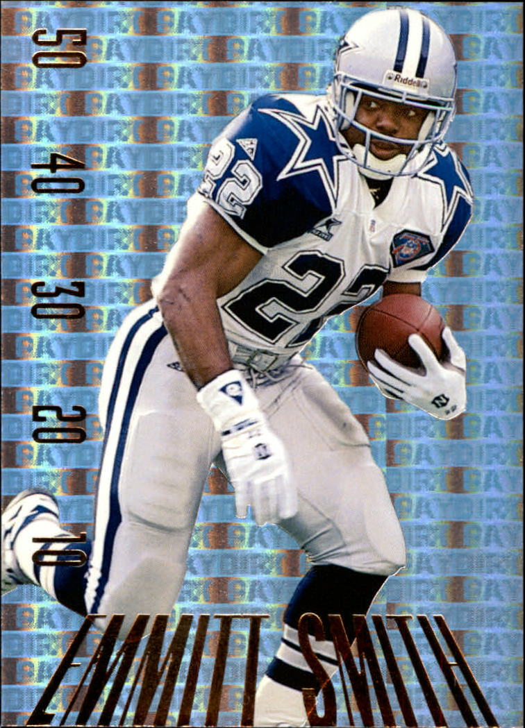 1995 SkyBox Premium Paydirt Gold #PD25 Emmitt Smith