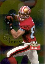 1995 SkyBox Premium Quickstrike #Q4 Jerry Rice