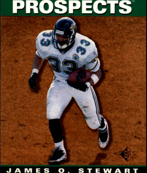 1995 SP #15 James O. Stewart RC