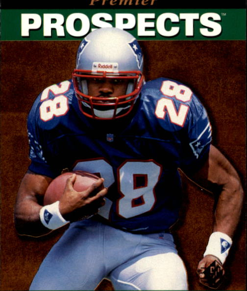 1995 SP #18 Curtis Martin RC