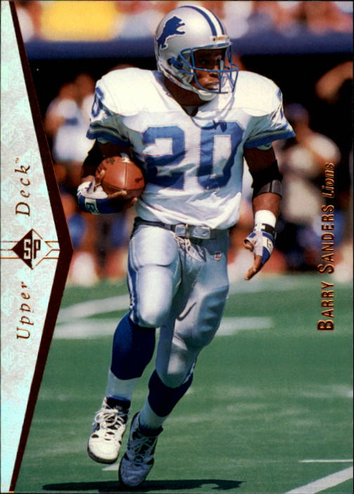 1995 SP #50 Barry Sanders