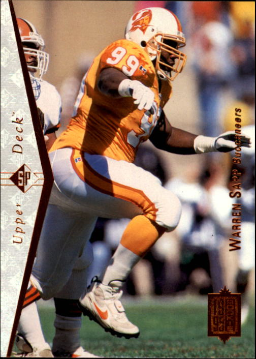 1995 SP #99 Warren Sapp RC