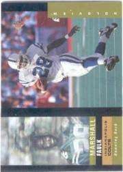 1995 SP Holoviews #7 Marshall Faulk