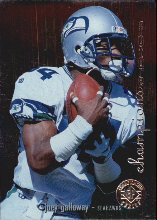 1995 SP Championship #42 Joey Galloway RC