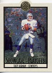 1995 SP Championship Playoff Showcase Die Cuts #PS1 Troy Aikman