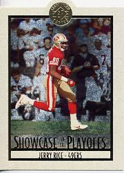 1995 SP Championship Playoff Showcase Die Cuts #PS2 Jerry Rice