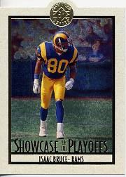 1995 SP Championship Playoff Showcase Die Cuts #PS3 Isaac Bruce