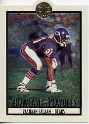 1995 SP Championship Playoff Showcase Die Cuts #PS5 Rashaan Salaam