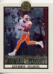 1995 SP Championship Playoff Showcase Die Cuts #PS7 Alvin Harper